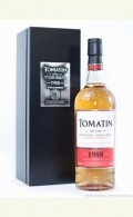Tomatin Highland Single Malt Whisky Vintage 1988 Batch Nr. 001