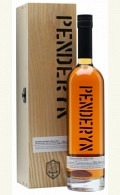 Penderyn Welsh Single Malt Whisky Bourbon Single Cask B227