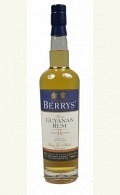Berry's Own Selection Rum - Guyana aged 14 years 46% 70cl
