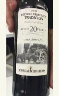 Pedro Ximenez Viejo V.O.S. 15.0% - Bodegas Tradicion Sherry