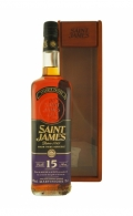 Saint James Rhum 15 Years - 43% 70cl