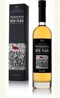 """Penderyn Welsh Single Malt Whisky Icons of Wales 1 """"The Red Flag"""""""